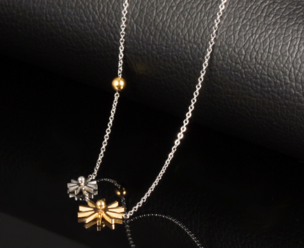 New Arrival Flower Design Pendant Necklaces Womens