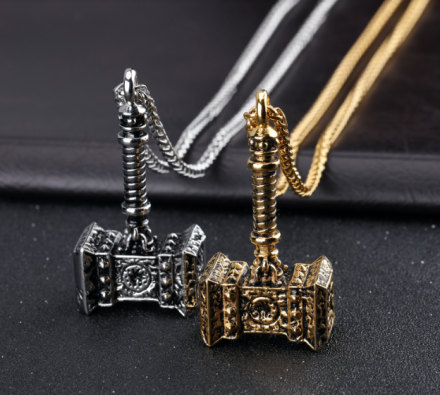 Classical Thor Hammer Pendant Necklaces